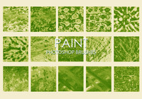 Free Dirty Paint Photoshop Brushes 5