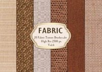 20 Fabric Texture Brushes.abr Vol.6