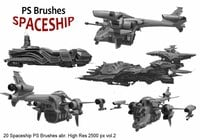20 Spaceship PS Brushes abr. vol.2