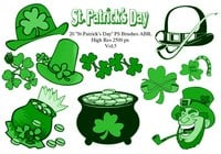 "20 ""St Patricks Day"" PS Brushes abr. Vol.5"