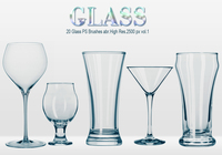 20 Glass PS Brushes abr.vol.1