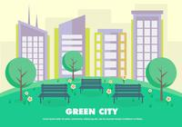 Flat-green-city-psd-photoshop-psds