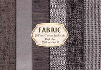 20 Stoff Textur Bürsten Vol.10