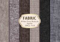 20 Fabric Texture Brushes Vol.11