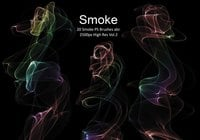 20 Smoke PS Brushes abr. Vol.2