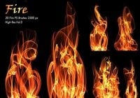 20 Fire PS Brushes abr.Vol.3