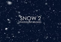 Free Snow Photoshop Brushes 2