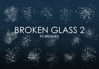 Gratis Broken Glass Pinceles para Photoshop 2