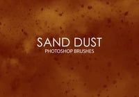 Brosses Gratuites Photoshop Sand Dust