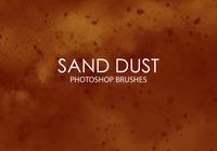 Free Sand Dust Photoshop Brushes