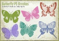 20 Butterfly PS Penselen abr.vol.6
