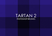 Free Tartan Photoshop Brushes 2