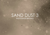 Free Sand Dust Photoshop Brushes 3