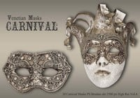 20 Máscaras de carnaval PS Brushes abr.vol.4