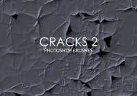 Free Abstract Cracks Photoshop Bürsten 2