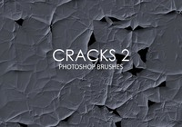 Free Abstract Cracks Pinceles para Photoshop 2