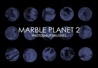 Free Marble Planet Photoshop Brushes 2