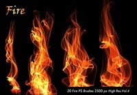 20 Fire PS Brushes abr.Vol.4