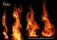 20 Fuego PS Brushes abr.Vol.4