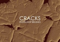 Free Abstract Cracks Photoshop Brushes