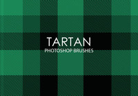 Gratis Tartan Photoshop Borstar