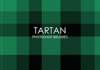 Escovas gratuitas do Photoshop de tartan
