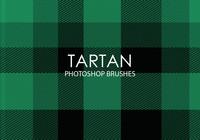 Free Tartan Pinceles para Photoshop