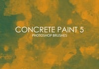 Free Concrete Paint Pinceles para Photoshop 5