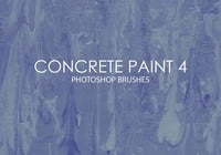 Free Concrete Paint Photoshop Brushes 4