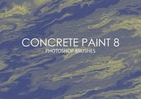 Free Concrete Paint Pinceles para Photoshop 8