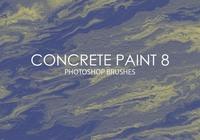 Free Concrete Paint Photoshop Brushes 8