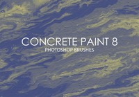 Free Concrete Paint Photoshop Brushes 8