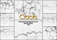20 Cracked Concrete PS escova abr. Vol.2