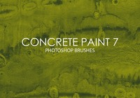 Free Concrete Paint Photoshop Brushes 7