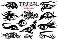 20 tribal eye ps brushes vol.18
