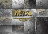 20 Old Metal Texture PS Penslar av vol. 1