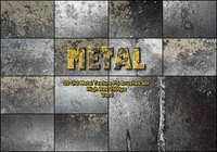 20 Old Metal Texture PS Brushes abr vol 1
