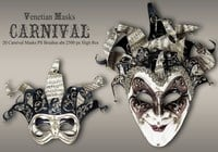 20 Máscaras de carnaval PS Brushes abr.vol.6