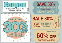 20 coupons ps brosses abr.
