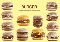 20 Burger PS Brushes abr. vol.1
