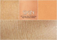 20 Human Skin PS Brushes abr.