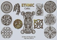 20 Ethnic PS Pinceles abr. Vol.3