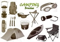 20 Camping PS Brushes abr. High Res.