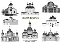 20 Church PS Brushes abr.