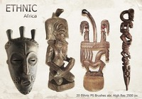20 Ethnic PS Brushes abr. vol.4