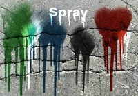 20 Spray Wet Drips PS Brushes Vol.10
