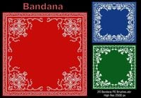 20 Bandanas PS Brushes.abr