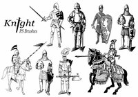 20 Knight PS Brushes ABR.