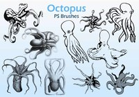 20 Octopus  PS Brushes abr.