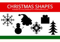 Formas navideñas